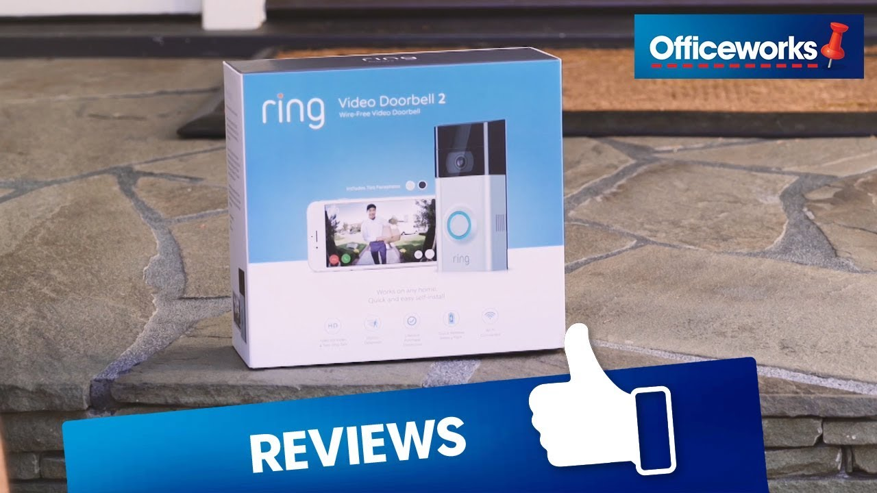 Ring Wireless Video Doorbell 2