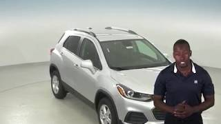 182807 - New, 2018, Chevrolet Trax, 1LT, AWD, Silver, SUV, Test Drive, Review, For Sale -