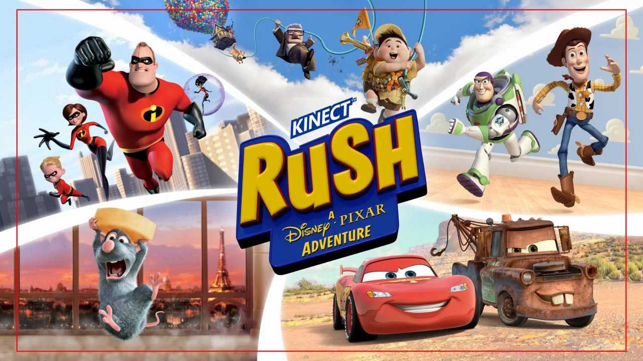 Uncategorized Pixar Games kinect rush a disney pixar adventure xbox 360 review youtube