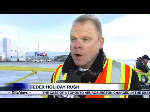 Video: How FedEx Canada deals with the holiday rush