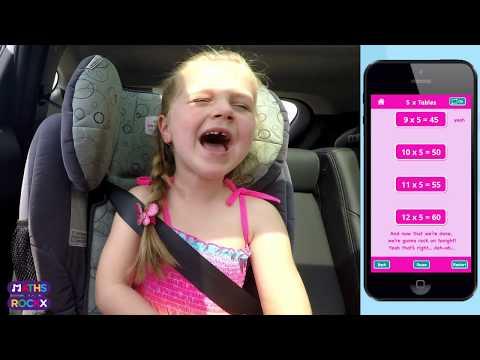 Carpool Karaoke + Maths Rockx = FUN!!