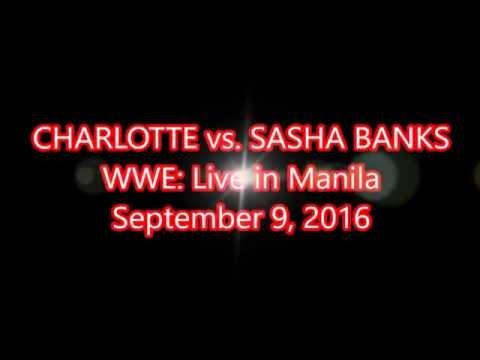 Charlotte vs. Sasha Banks - WWE Live in Manila