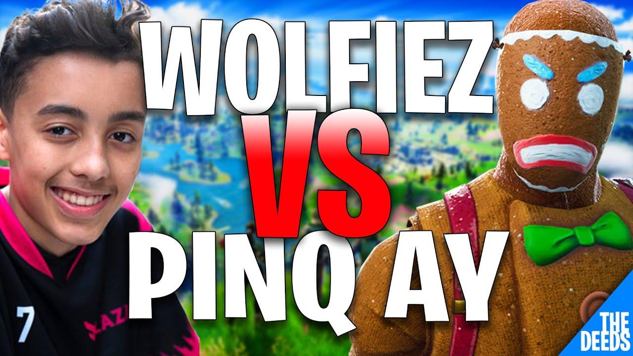 Wolfiez 1V1V1 Pinq ay лол and Crr | Creative 1v1 *EPIC EU BUILD FIGHTS*