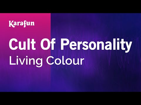 Karaoke Cult Of Personality - Living Colour *