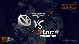 [DOTA 2 LIVE PH] TnC Predator VS Vici Gaming |Bo3| The Kuala Lumpur Major Lower Bracket Round 3