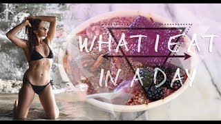 What I Eat In A Day - Raw Vegan + Plant Based (For Healthy Skin + Body + Earth)
