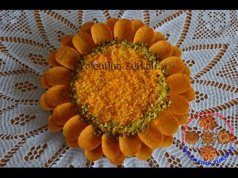 Слоеный салатПОДСОЛНУХ . Salat Sonnenblume.