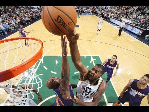 Derrick Favors Unleashes for a  Career High 32-Points
