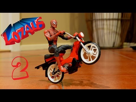 SPIDERMAN Stop Motion Action Video Part 2