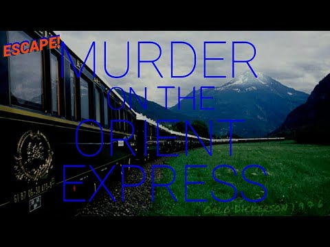 """Murder On The Orient Express"" Great Classic Radio Thriller from ESCAPE!  (1949)  [remastered]"