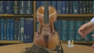 Stradivarius Violin Stolen From Late BU Professor Found 35 Years Later