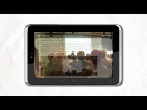 HTC Flyer Official Demo