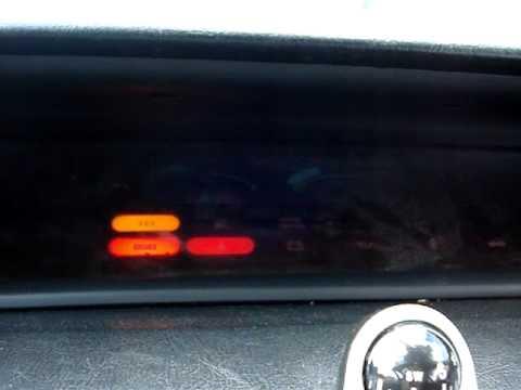 Honda Prelude H23 4ws Si '92 Gas/temperature Cluster Malfunction