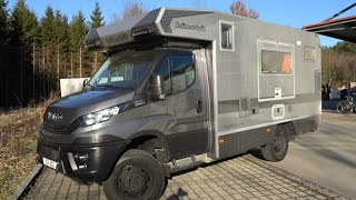 Bimobil EX412 mit Terrasse 2021 Iveco Daily 4x4 Offroad Wohnmobil. Made in Bavaria Germany.