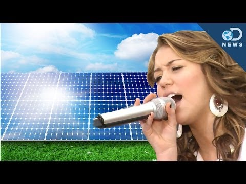 Pop Music Makes Solar Cells More Efficient