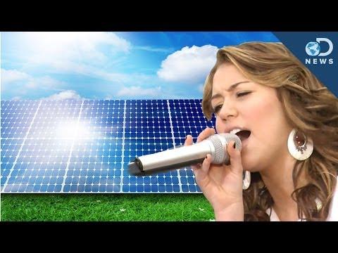 Pop Music Makes Solar Cells More Efficient