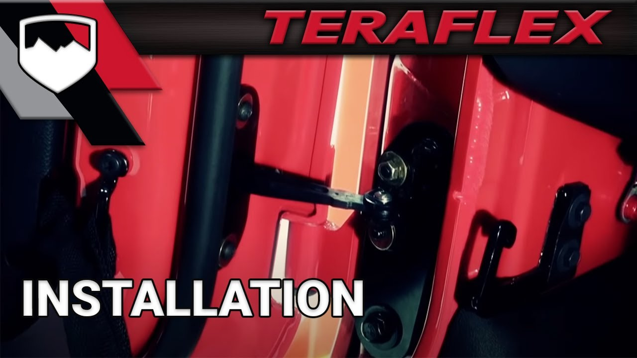Teraflex Install Jeep Wrangler Jk Smart Door Youtube