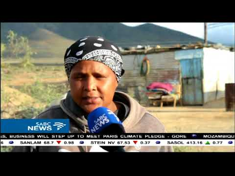 Residents of a Calvinia informal settlement continue to live in shacks