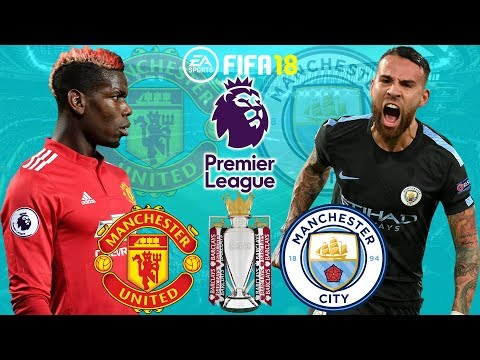 FIFA 18 | Manchester United vs Manchester City | Premier League 2017/18 | Prediction Gameplay