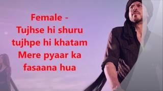 Zaalima Raees Clean Karaoke with Lyrics (HD quality) by Pooja A Naryani