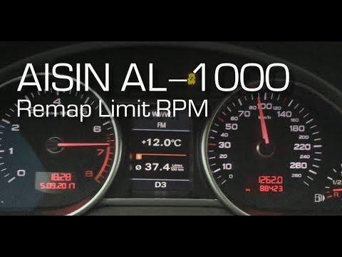 Eurocode Tuning Aisin AL-1000 Remap tuning
