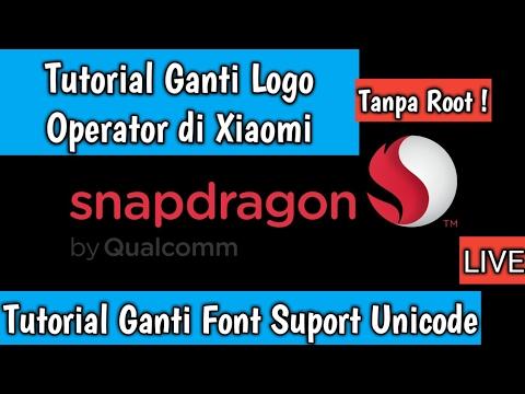 Tutorial Ganti Logo Operator & Font Suport Symbol Unicode ᕬ ⢒ (Tanpa Root)
