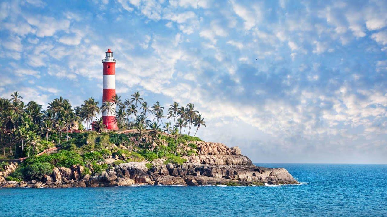 Kovalam Beach In Kerala India
