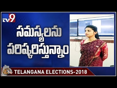 EVMs at some places had teethig problems - Election Officer Amrapali - TV9