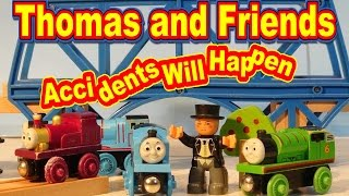 Thomas and Friends Accidents Will Happen , Slow Motion with Thomas the Train, Diesel 10,  and Toby