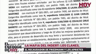 La mafia del INDERT: Los clanes, el recaudador de Friedmann y el esquema de aprietes.