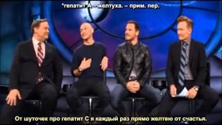 КомикКон 2015: Джеймс МакЭвой и Майкл Фассбендер