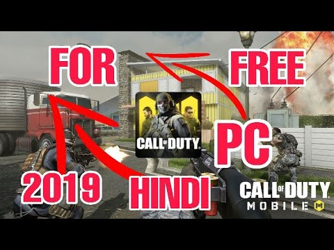💎How to Download & Install Call of Duty Mobile On PC HINDI How to Play COD Mobile On PC HINDI - 동영상