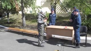 Одевание хим.костюма Л-1(, 2013-09-12T09:05:04.000Z)