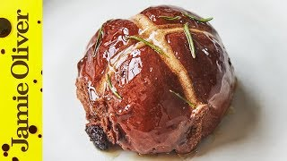How to Cook Chocolate Hot Cross Buns | Jamie Oliver
