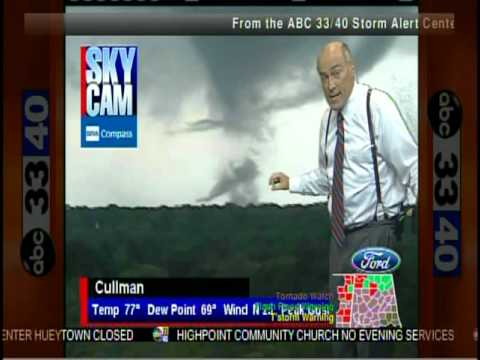 ABC 33/40 Coverage of the April 27, 2011 Outbreak (2:45 to 3:00 pm)