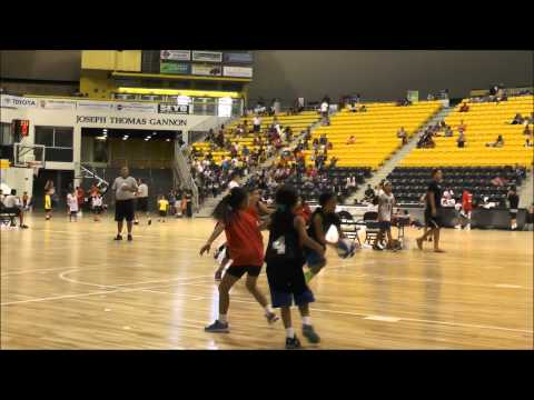 """VICKY """"SWAGGY V"""" OM 2014 NIKKEI GAMES 3 ON 3 BASKETBALL HIGHLIGHTS"""