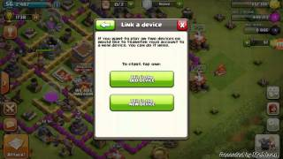 How to link your device on clash of clans