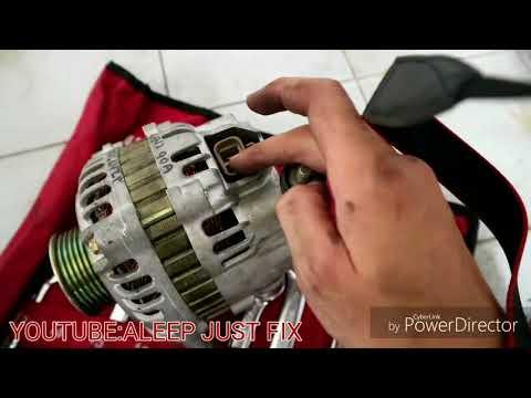 Alternator kong pulak!! Step by step diagnose masalah dan tukar Alternator