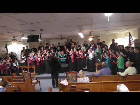 03 19 2017 Calico Rock Mennonite choir