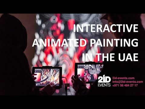 INTERACTIVE ANIMATED PAINTING IN THE UAE - ID: 5,837