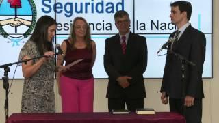 Cecilia Rodríguez tomó juramento a nuevos secretarios