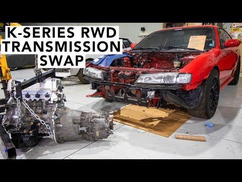 How To Install A BMW Trans Onto A Honda K24 K20 – Honda K-Swap 240SX