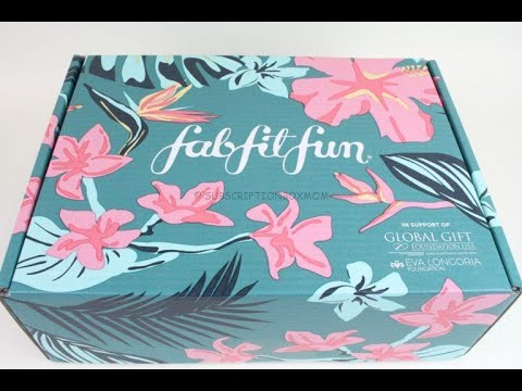FabFitFun Summer 2019 Subscription Box Unboxing, Add Ons + Coupon ($10/Free Gift)