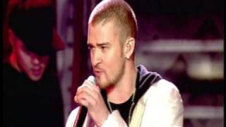 Cry Me A River + Like I Love You, Justin Timerlake (Brit Awards 2003)
