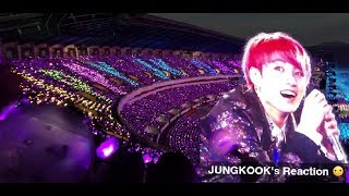 180825 BTS (방탄소년단) JUNGKOOK 's BIRTHDAY Fan Project by ARMYS @ Love yourself Tour in Seoul