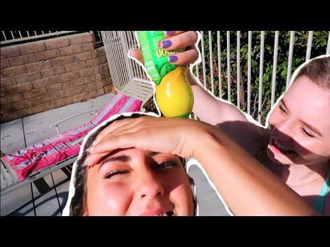 """Testing the Lemon Juice Hair """"Lightening"""" Hack for 6 HOURS"""