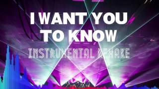 Zedd - I Want You To Know (Instrumental Remake) + FLP Download