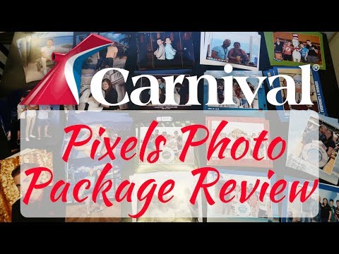 Carnival Cruise Line: Pixels Plus Digital Photo Package Review