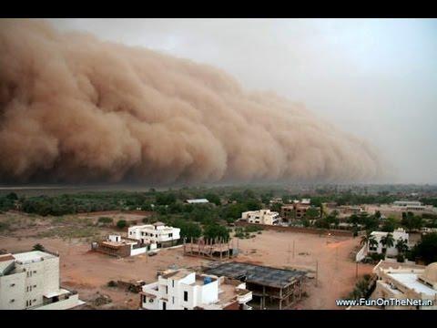 Dust Storm Hits Northern Gujarat