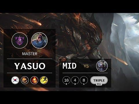 Yasuo Mid vs